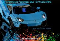 LB Performance Pearl Baby Blue Paint Set 2x30ml