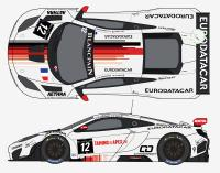McLaren MP4-12C GT3 Art GP. Decals for Fujimi kit