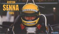 1:20 Lotus 97T Renault Portuguese GP 1985 with Senna Figure