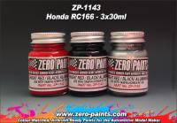 Honda RC166 Paint Set 3x30ml