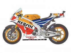 1:12 Honda Repsol RC213V D Pedrosa / GP Brno 2014 Decals, Resin