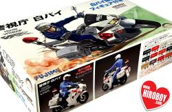 1:12 Honda VFR800P Police Motorcycle With Figure