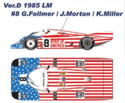 1:12 Porsche 956 Long Tail Sprit of America Ver D Ful Detail Kit