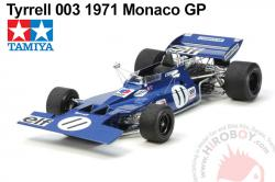 1:12 Tyrrell 003 1971 Monaco GP (c/w Photoetched Parts) New Kit !!