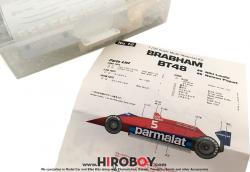 1:20 Brabham BT48 Niki Lauda - Nelson Piquet Multi-Media Kit