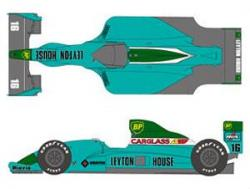1:20 Leyton House CG901 Decals (Tamiya)