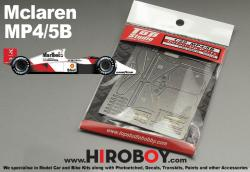 1:20 Mclaren MP4/5B Photoetched Detail up Set