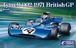1:20 Tyrrell 002 British GP 1971