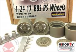 "1:24 17"" BBS RS Wheels"