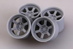 "1:24 17"" Rays Volk Racing TE37V Wheels"