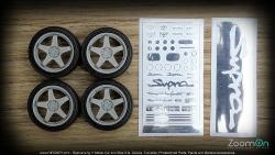 1:24 18'' TRD T3 Sport Wheels and Tyres