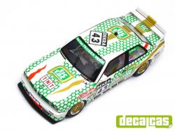 1:24 BMW M3 E30 Tic Tac Tauber Team DTM 1991 Decals