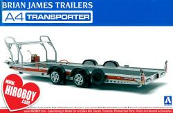 1:24 Brian James Trailers A4 Transporter Model Kit