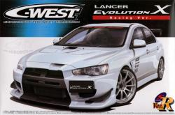 1:24 C-West Mitsubishi Lancer Evolution X (Racing Version)