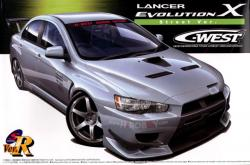 1:24 C-West Mitsubishi  Lancer Evolution X (Street Version)