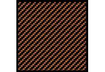 1:24 Carbon Fiber Decal Twill Weave Black/Bronze #1124