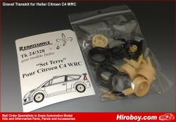 1:24 Citroen C4 WRC Gravel Conversion Transkit (Heller)