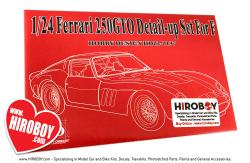 1:24 Ferrari 250 GTO Photoetched Detail-up Set (Fujimi)