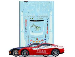 1:24 Ferrari 599 GTB Panamerican 20,000 Decal Sheet A