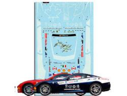 1:24 Ferrari 599 GTB Panamerican 20,000 Decal Sheet B