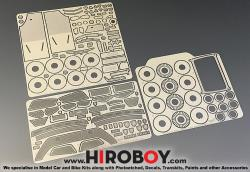 1:24 Ferrari F430 Scuderia Photoetched Parts