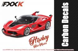 1:24 Ferrari FXX K Carbon Decals - 12669