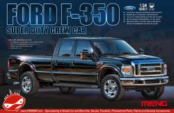 1:24 Ford F-350 Super Duty Crew Cab Model Kit