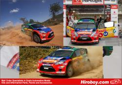 "1:24 Ford Fiesta WRC - ""Vodafone/Ludo Mobil"" Portugal Rally 2012 H.Solberg - Decals for Belkits"