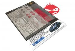 1:24 Lamborghini Sesto Elemento - Photoetched Detail Up Set