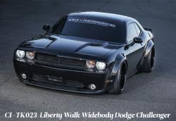 1:24 Liberty Walk Widebody Dodge Challenger Transkit for Revell