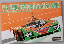 1:24 Mazda 787B Detail-up Set for Tamiya Photoetched+Metal