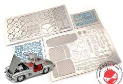 1:24 Mercedes-Benz 300SL Photoetched Detail Up Set (Tamiya)
