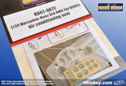 1:24 Mercedes-Benz SLS AMG For Revell Air Conditioning Vent (Metal+Photoetched)