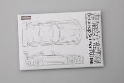 1:24 Mercedes Benz SLS AMG GT3 Photoetched Detail up Set for Fujimi Photoetched+Metal