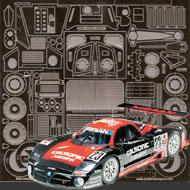 1:24 Nissan R390 GT1 Photoetched Detail Set #8016