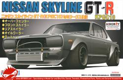 1:24 Nissan Skyline GT-R (KPGC10) Hakosuka Semi-Works  - Model Kit