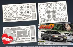 1:24 Nissan Skyline GT-R R32 BNR32 Rin Hojyo (PE+Metal Parts+Resin) Detailing Set