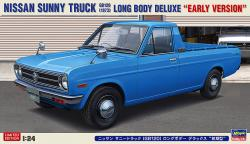 1:24 Nissan Sunny Truck Long Bed Deluxe 1973 (Early Version)