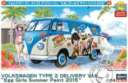 "1:24 Volkswagen Type 2 Delivery Van ""Egg Girls of Summer"" Limited Edition"