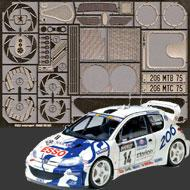 1:24 Peugeot 206 WRC Photoetched Set #3025