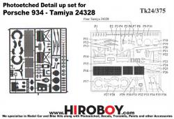 1:24 Porsche 934 Detail-Up Photoetched Parts (Tamiya)