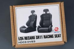 1:24 Recaro SR11 Racing Seats (Resin+Decals)
