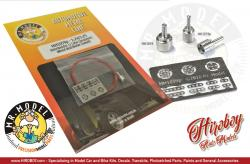 1:24 Red Wired Distributor (8/6/4 cyl - with PE) Small