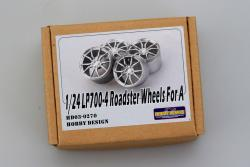 1:24 Roadster Wheels for Lamborghini LP700-4 for Aoshima