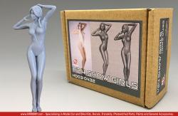 1:24 Show Girl Resin Figure HD03-0432