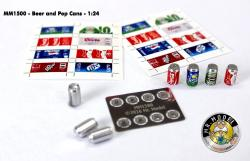 1:24 Soda/Beer Cans