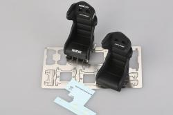 1:24 Sparco PRO-ADV Racing Seat Photoetched/Resin/Decals Detailing Set