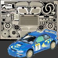 1:24 Subaru Impreza WRC 1998 and 1999 Photoetched Set #3026
