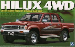1:24 Toyota Hilux 4WD Double Cab