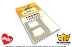 1:24 VW Type 2 Safari Style Windshield Frames (Photoetched Part)